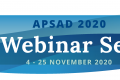 APSAD 2020 WEBINAR SERIES NOW AVAILABLE TO WATCH ON DEMAND