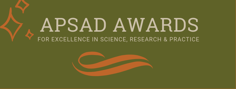 2019 APSAD Awards banner