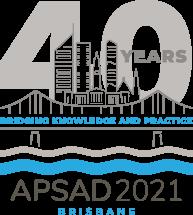 APSAD2021 40th Logo